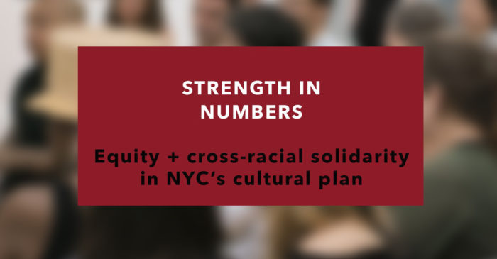 Strength in Numbers, Artists of Color Bloc and Michelada Think Tank at Cue Art Foundation